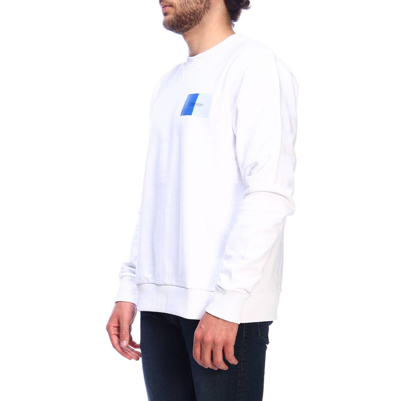 Pullover herren Calvin Klein weiß 2