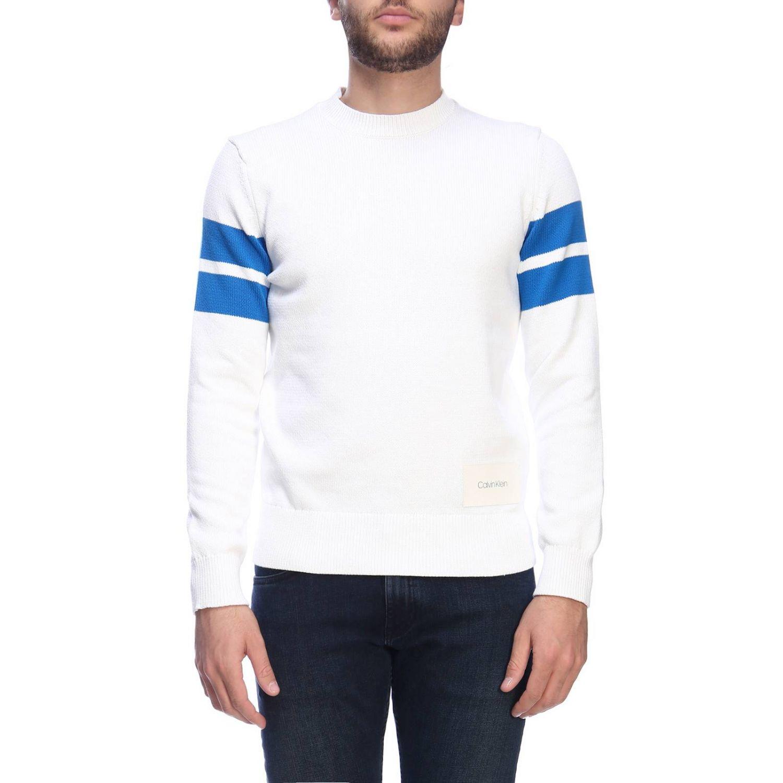Jumper men Calvin Klein white 1