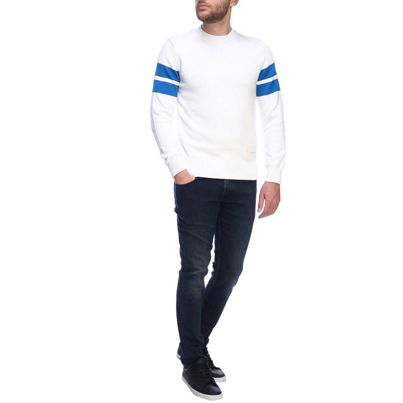 Jumper men Calvin Klein white 4