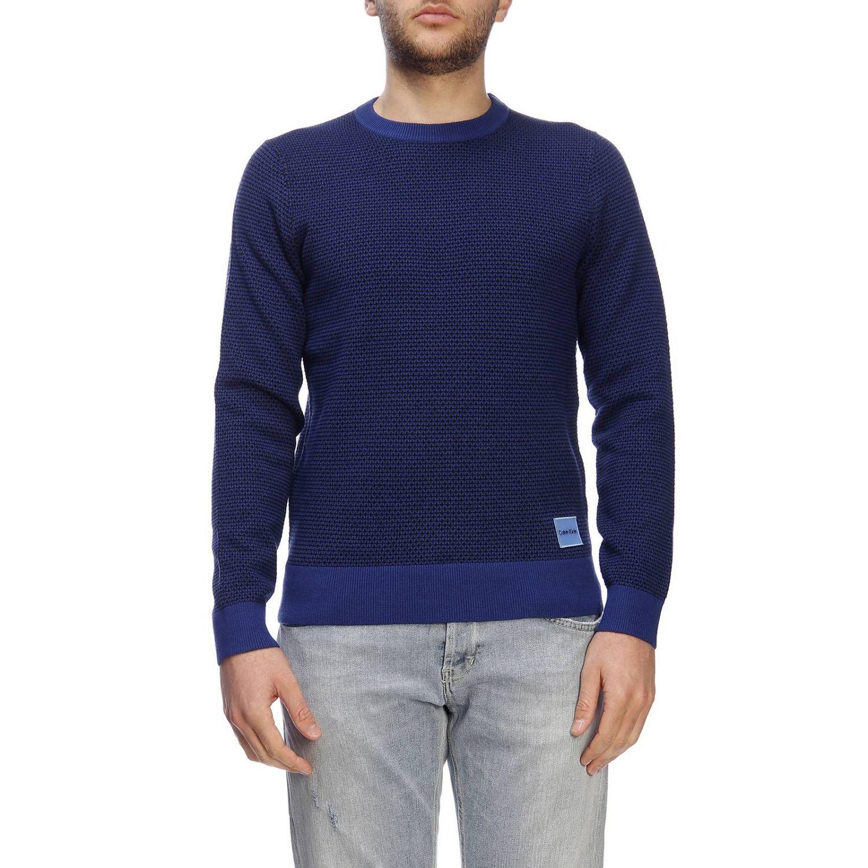 Jersey hombre Calvin Klein azul oscuro 1