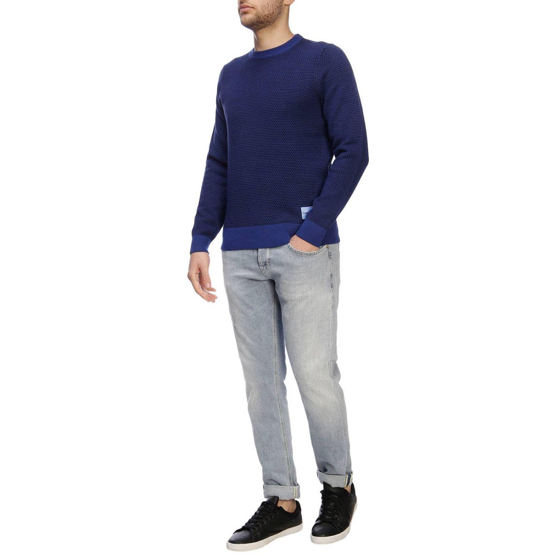 Jersey hombre Calvin Klein azul oscuro 4