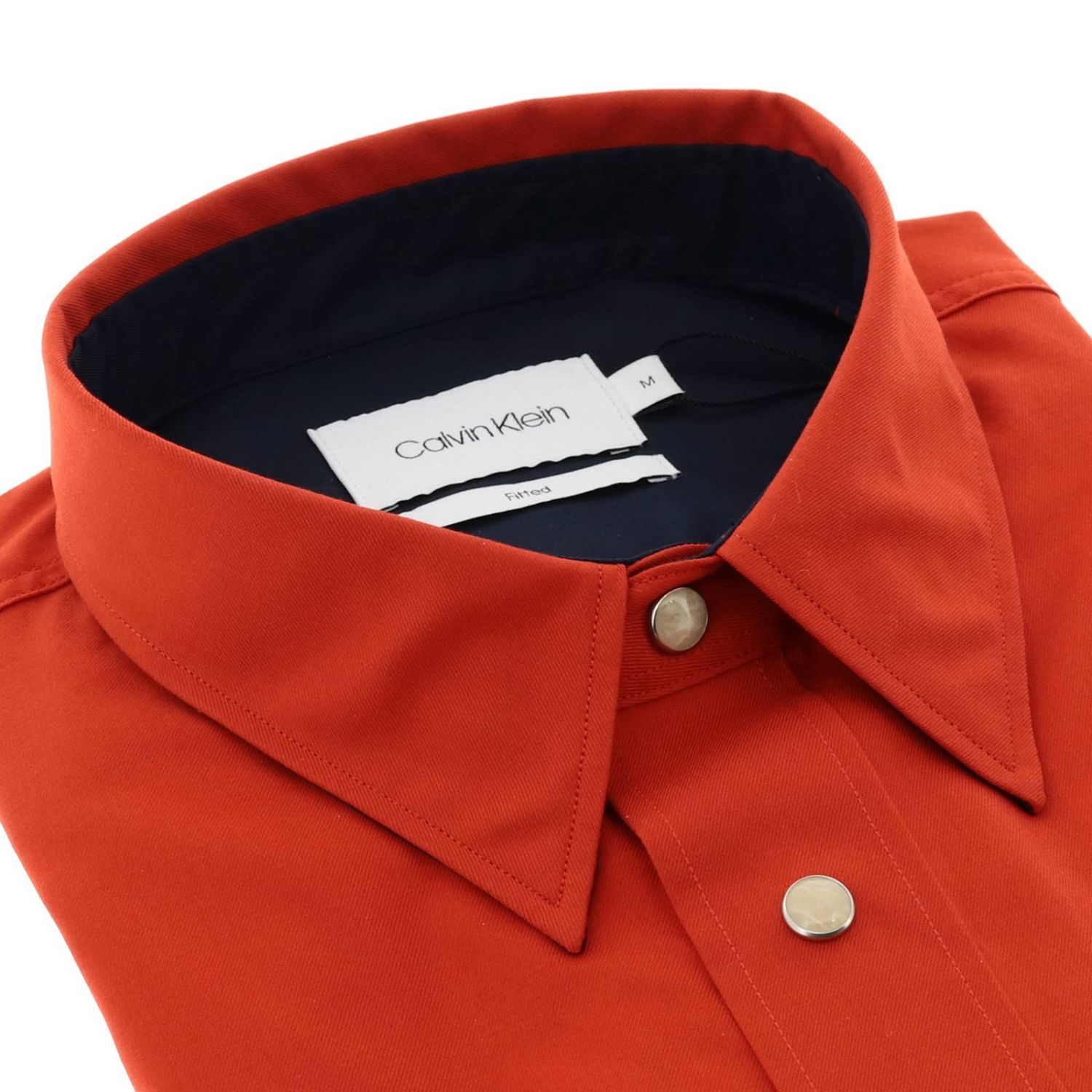 Shirt men Calvin Klein red 2