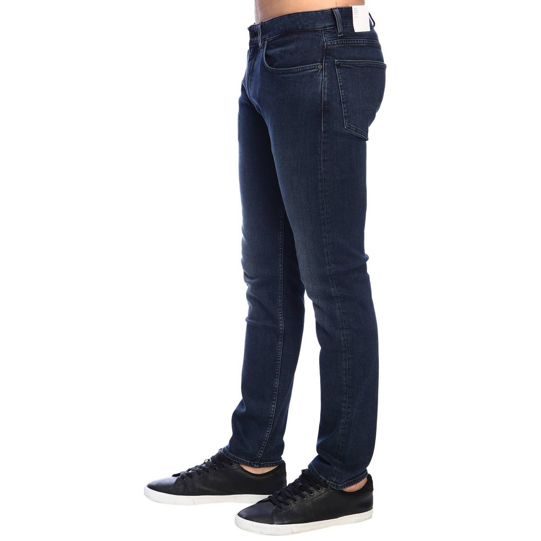 Jeans Clavin Klein Jeans in denim stretch slim nero 2