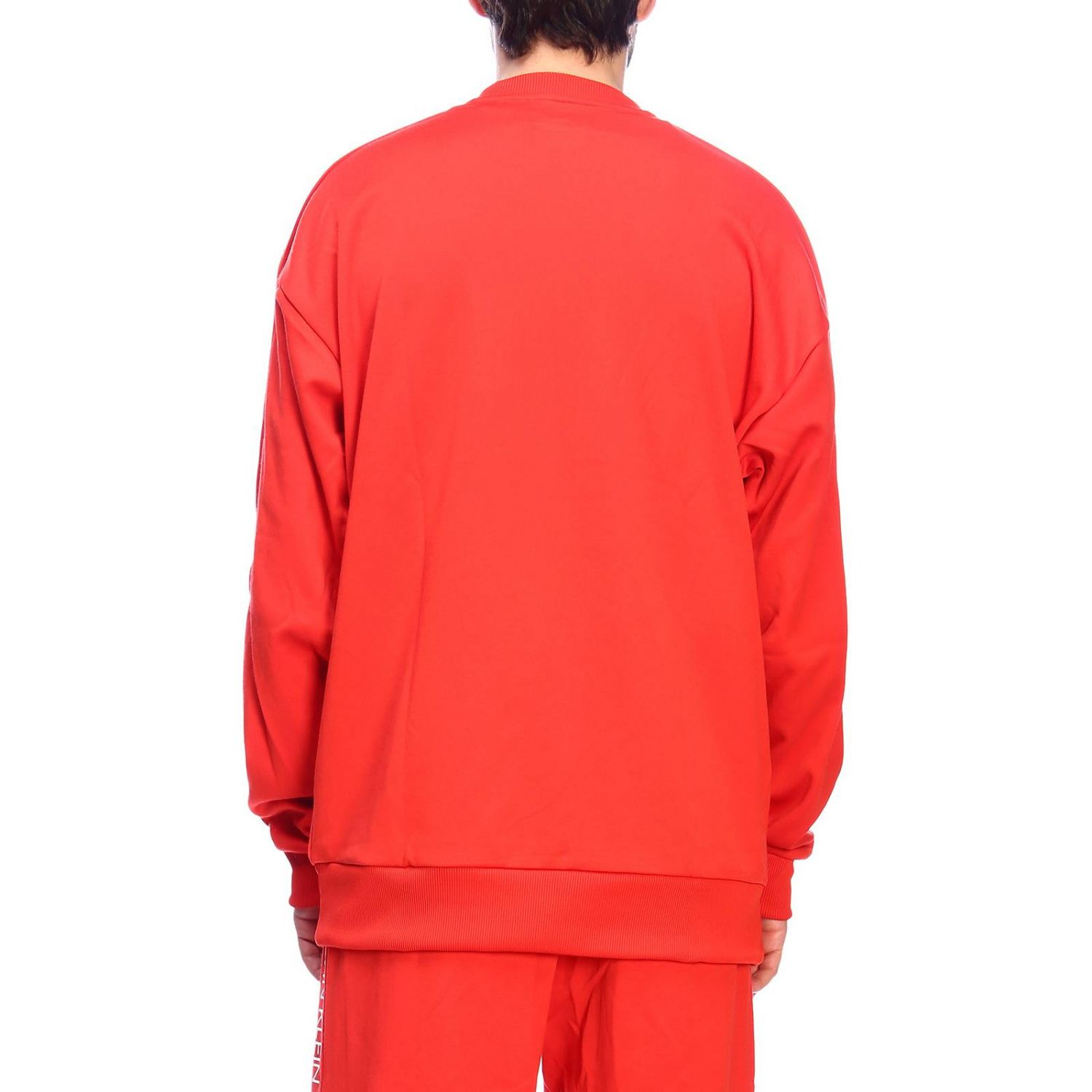 Pull homme Calvin Klein Performance rouge 3