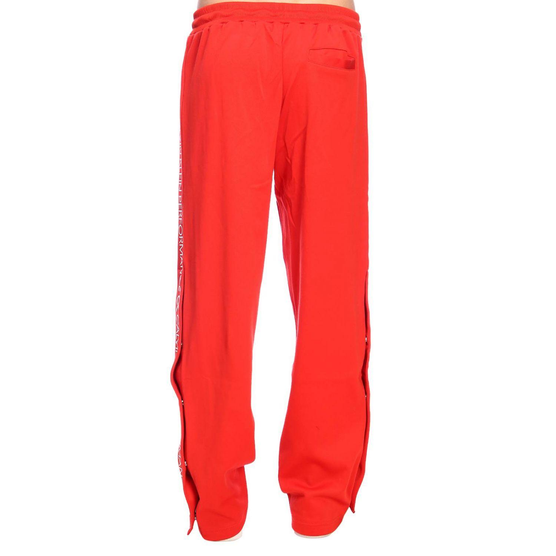 Pants men Calvin Klein Performance red 3