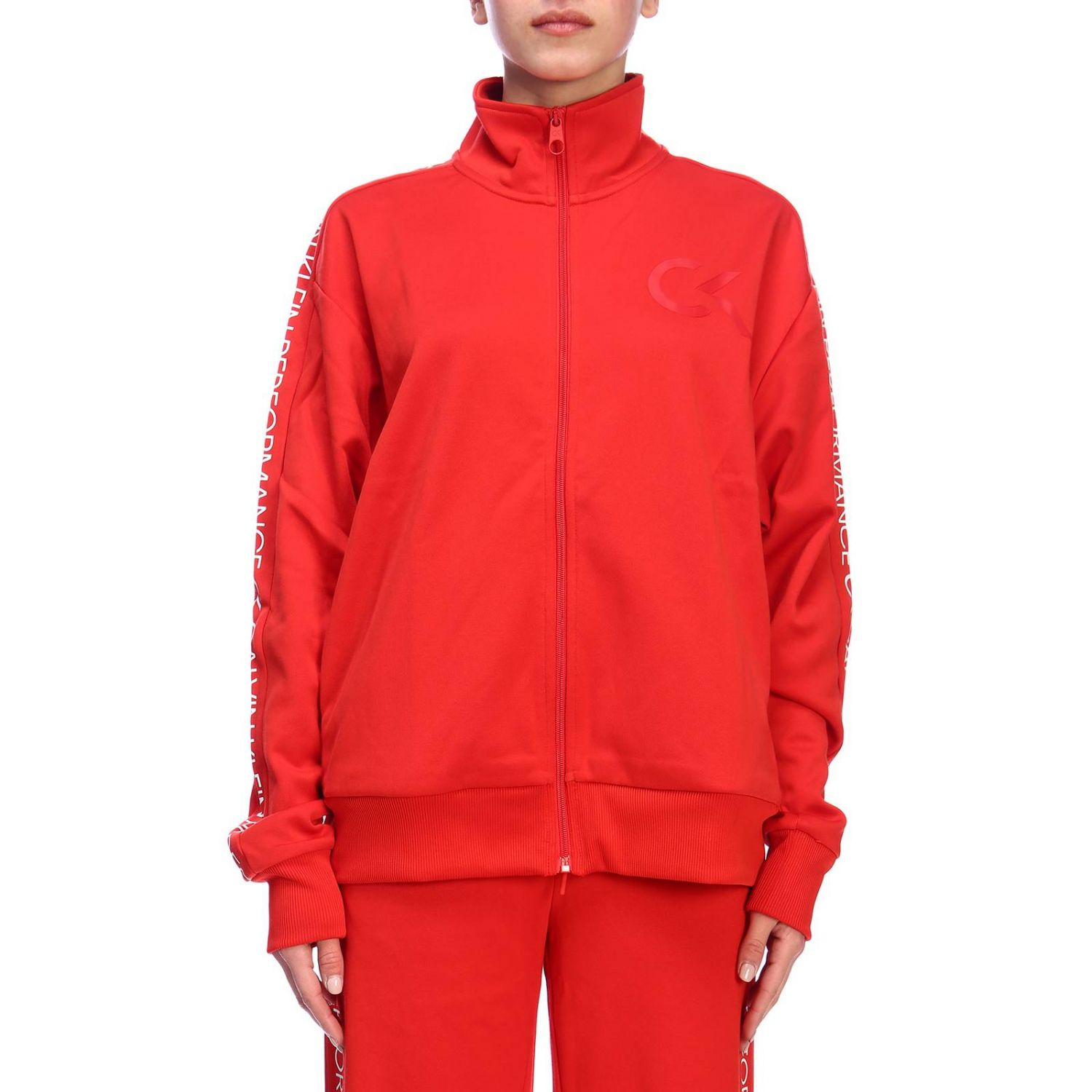 Sweater women Calvin Klein Performance red 1