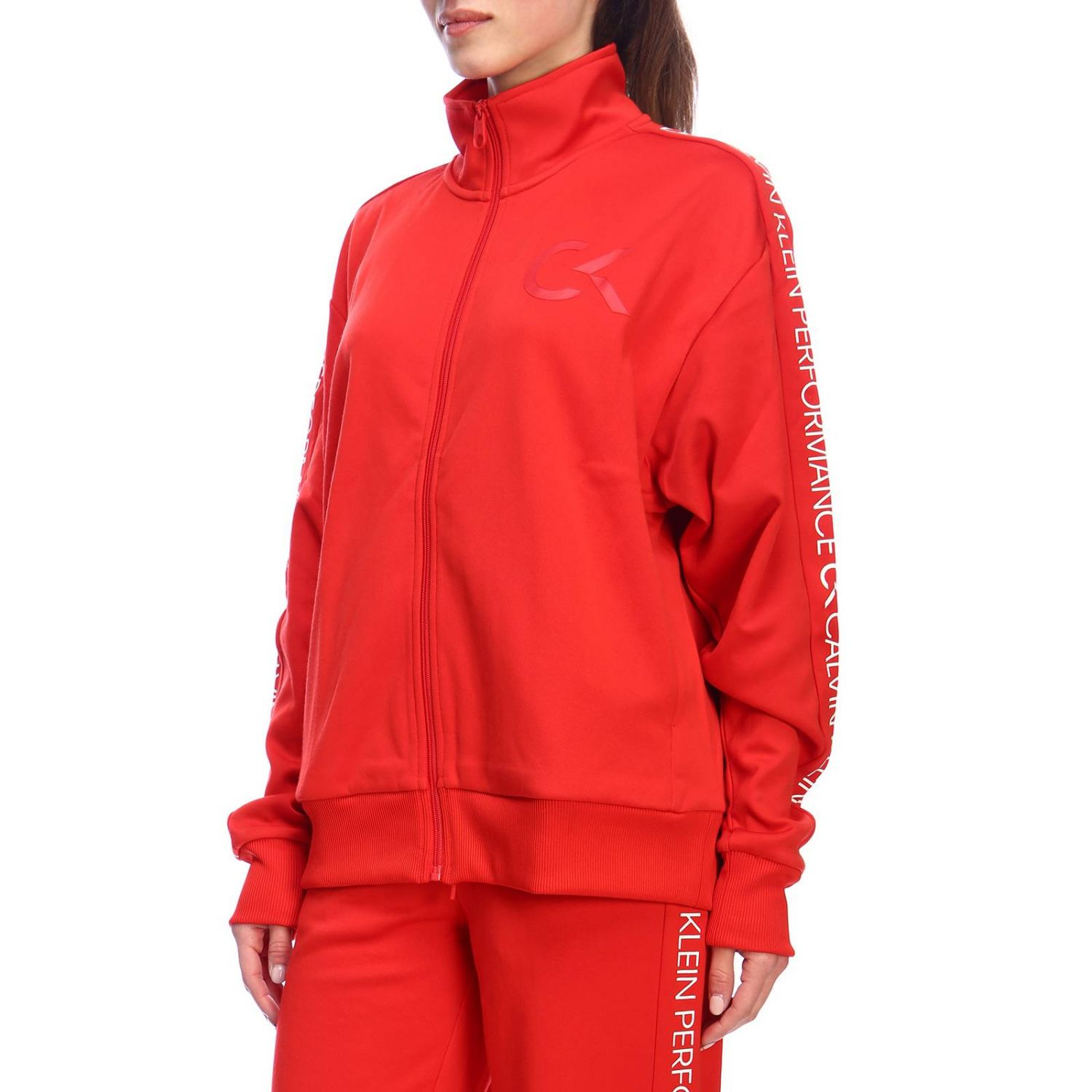 Sweater women Calvin Klein Performance red 2