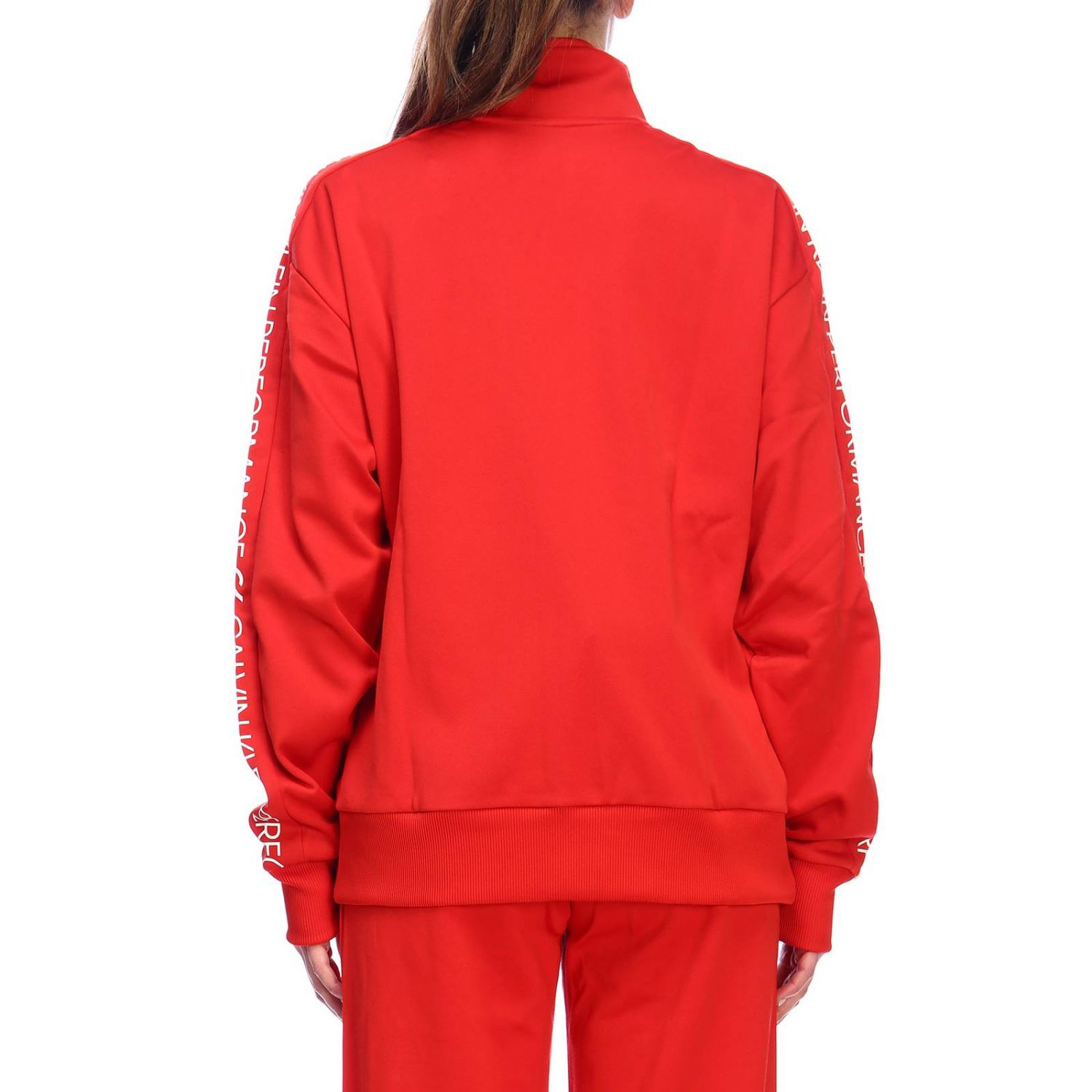 Sweater women Calvin Klein Performance red 3