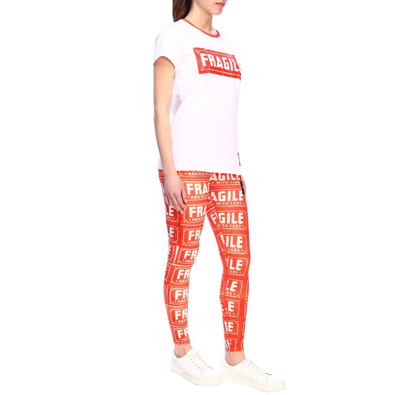 T-shirt women Calvin Klein Performance white 4