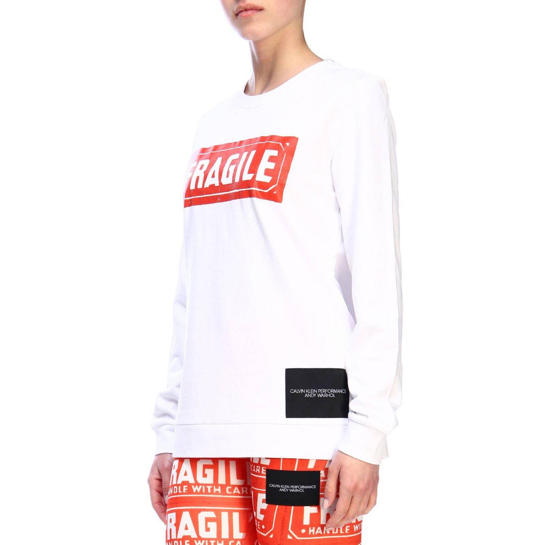 Sweater women Calvin Klein Performance white 2