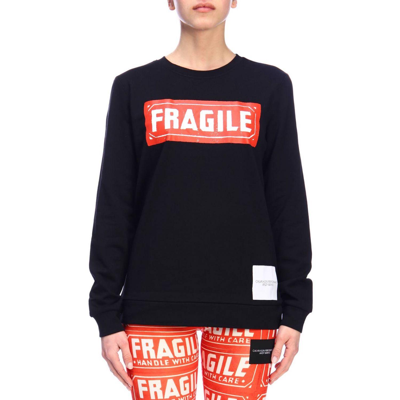 Sweater women Calvin Klein Performance black 1