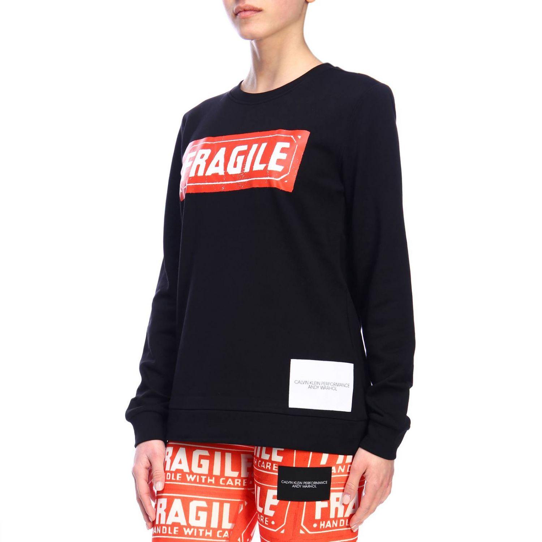 Sweater women Calvin Klein Performance black 2