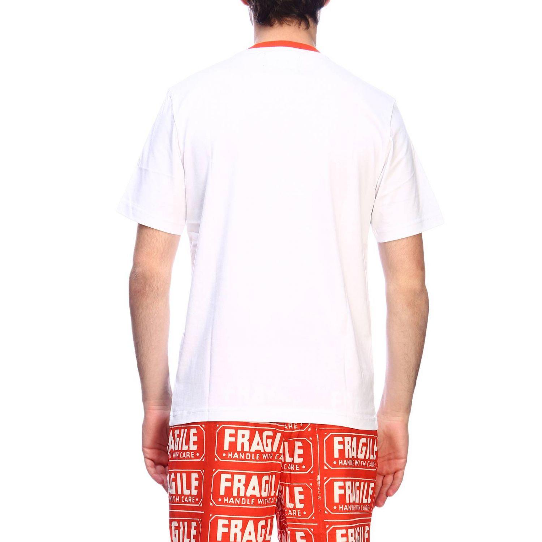 T-shirt men Calvin Klein Performance white 3