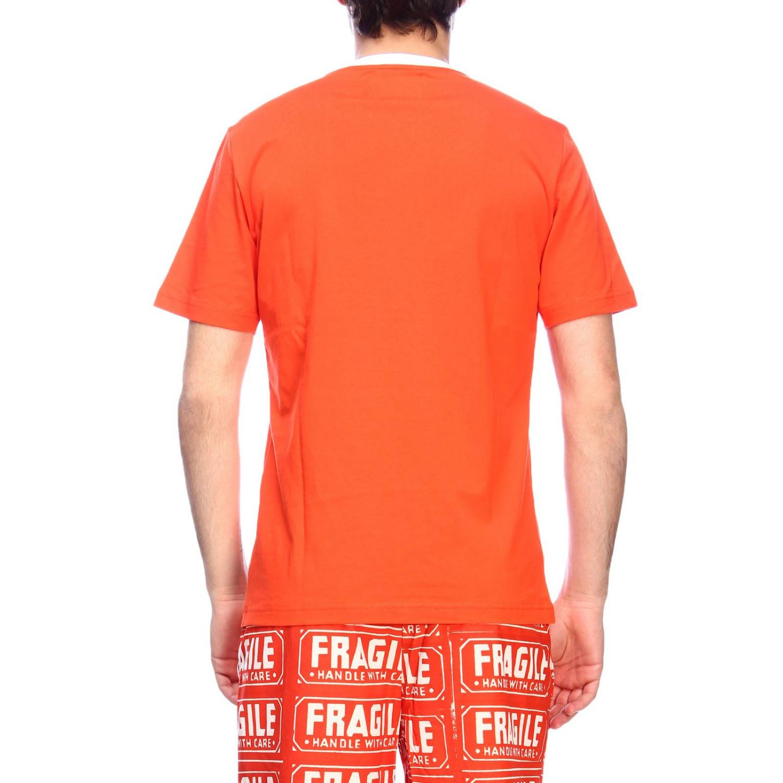 T-shirt men Calvin Klein Performance orange 3