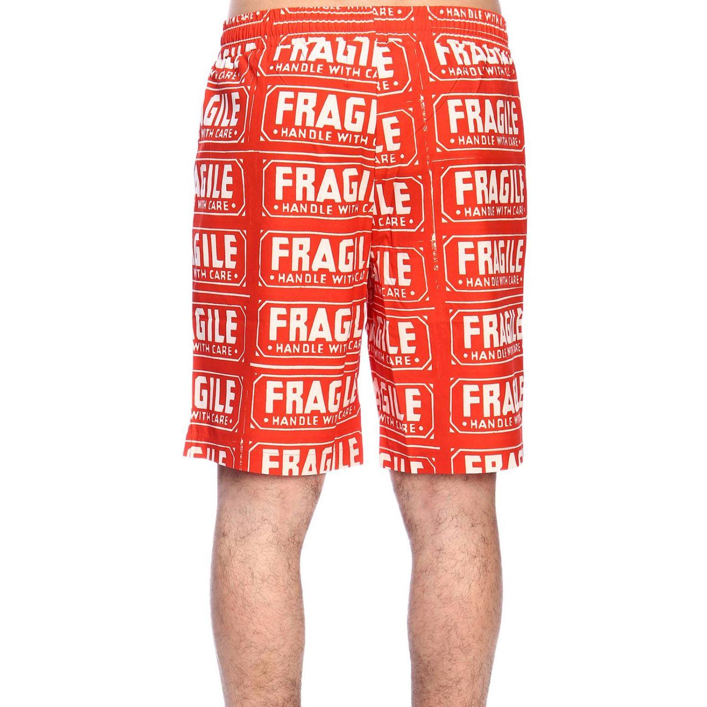 Pants men Calvin Klein Performance orange 3