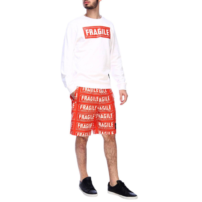 Pants men Calvin Klein Performance orange 4