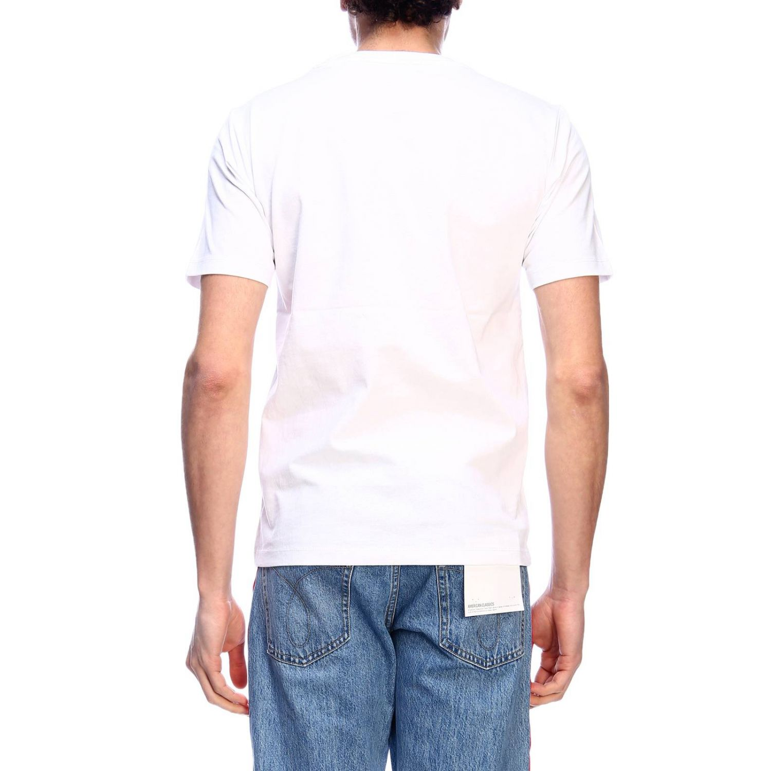 T-shirt men Calvin Klein Jeans white 3