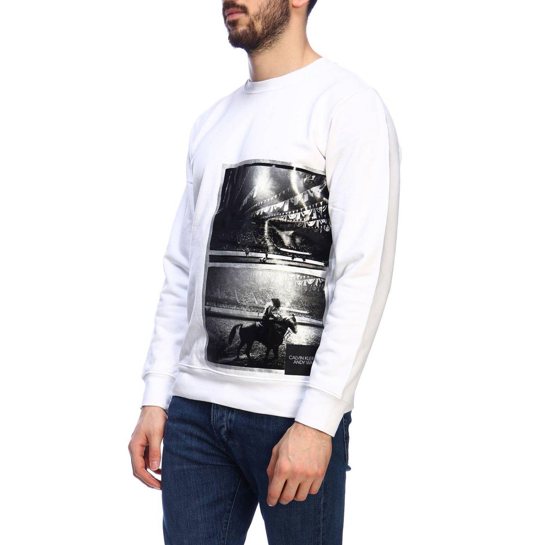 Jersey hombre Calvin Klein Jeans blanco 2