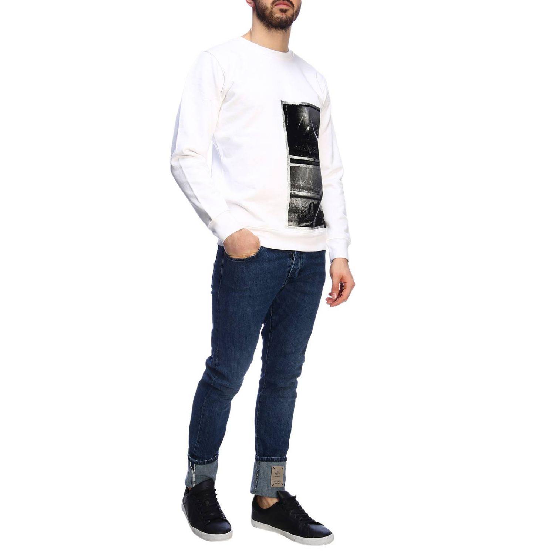 Jersey hombre Calvin Klein Jeans blanco 4