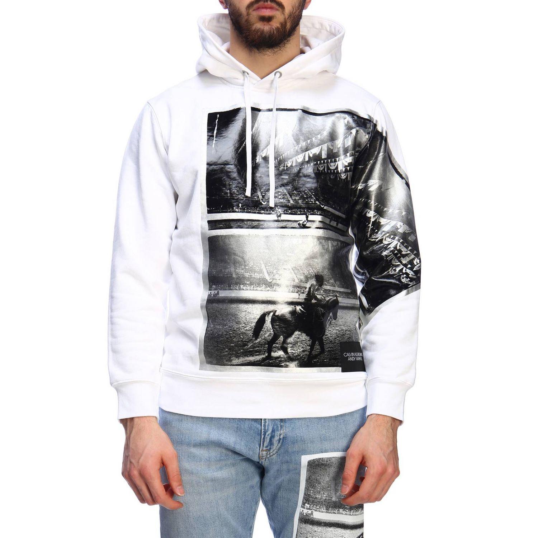 Jersey hombre Calvin Klein Jeans blanco 1
