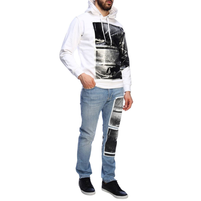 Jersey hombre Calvin Klein Jeans blanco 5