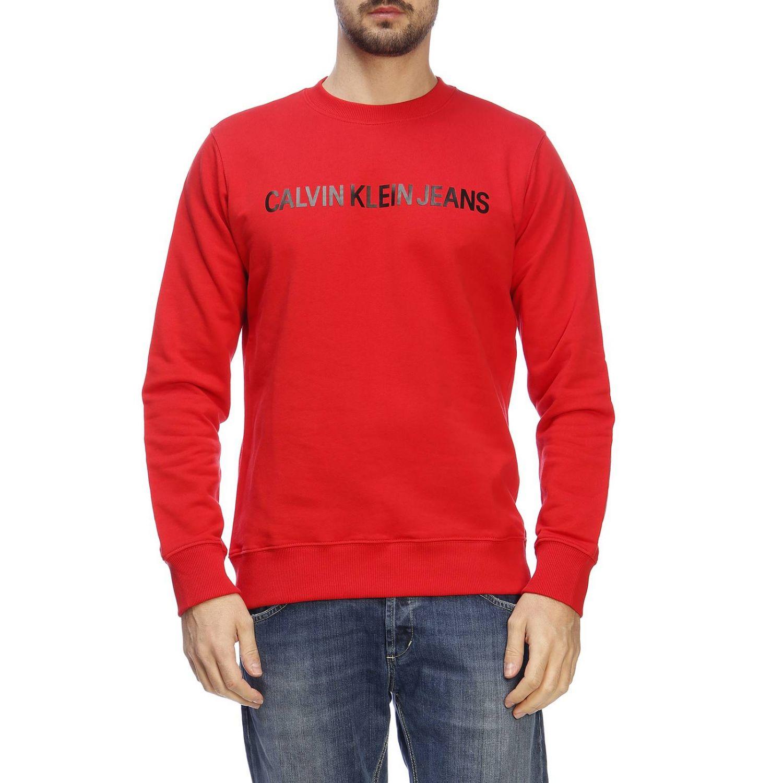 Свитер Мужское Calvin Klein Jeans красный 1