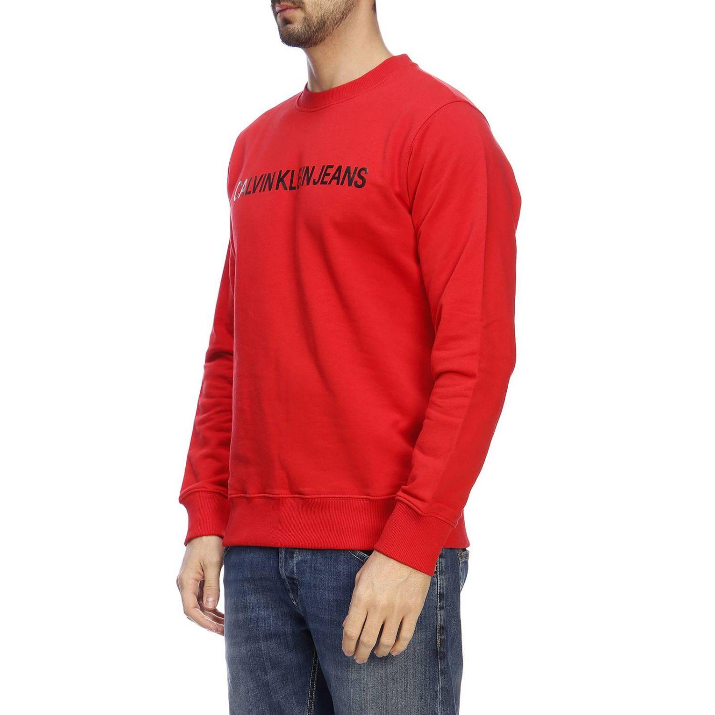 Свитер Мужское Calvin Klein Jeans красный 2