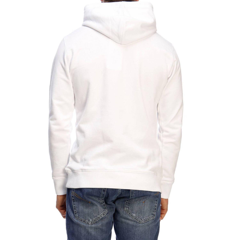 Pull homme Calvin Klein Jeans blanc 3