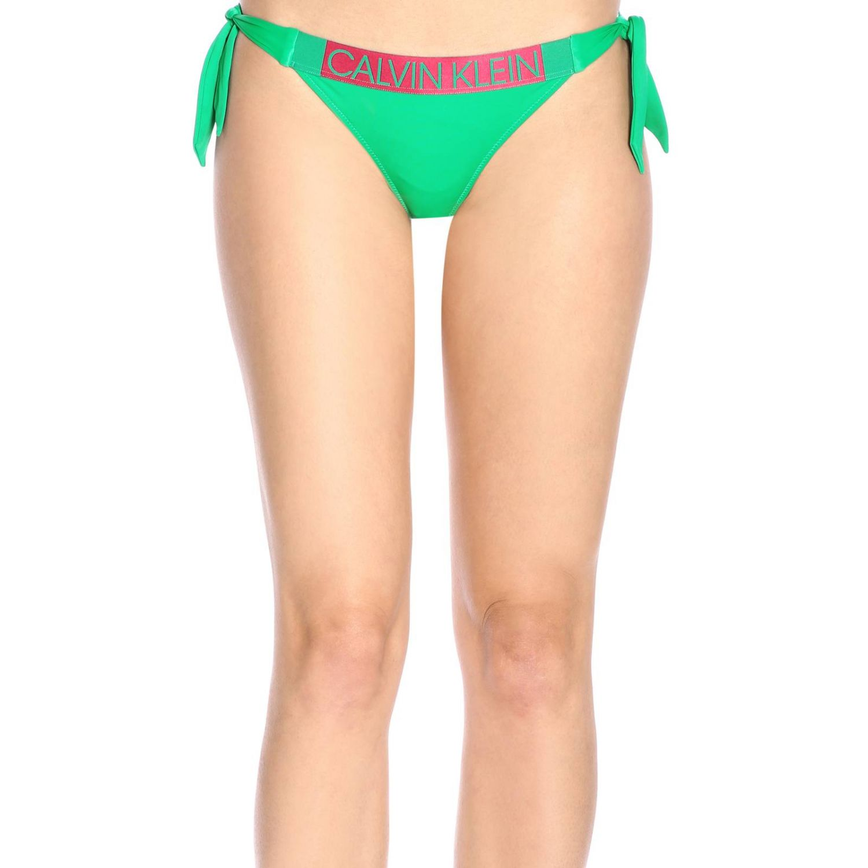 Maillot de bain homme Calvin Klein Swimwear vert 1
