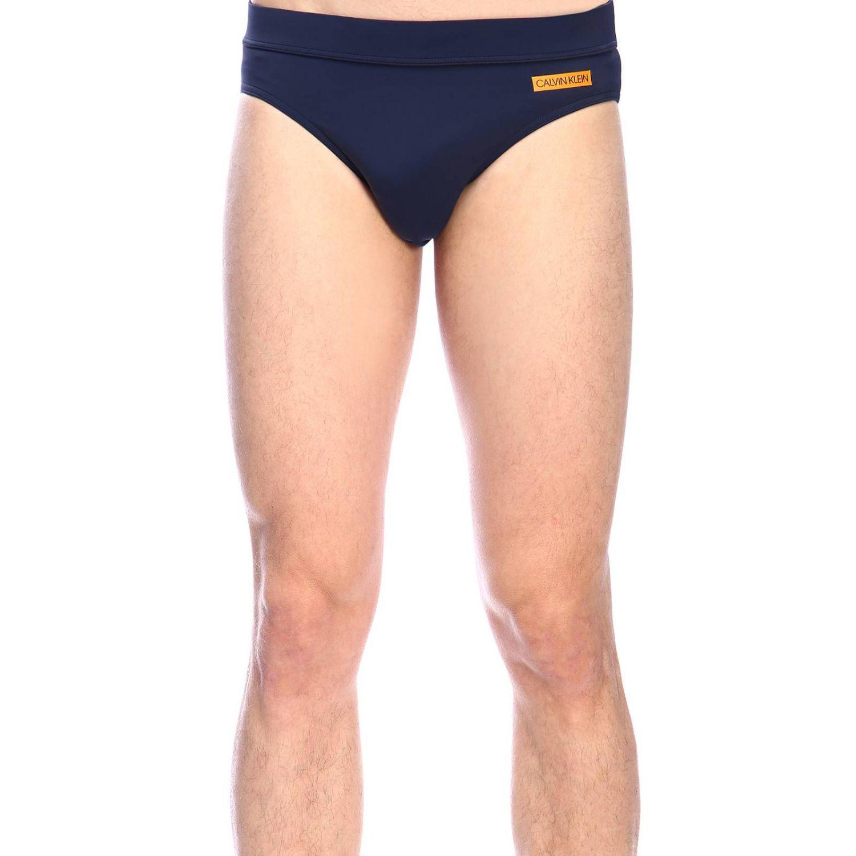 Maillot de bain Calvin Klein Swimwear: Maillot de bain homme Calvin Klein Swimwear bleu 1