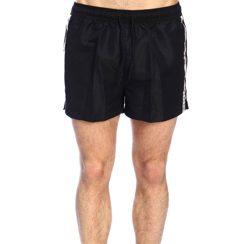 Maillot de bain homme Calvin Klein Swimwear noir 1