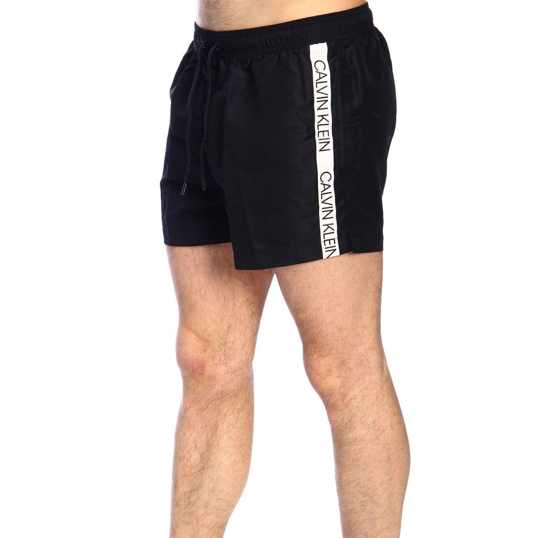 Maillot de bain homme Calvin Klein Swimwear noir 2