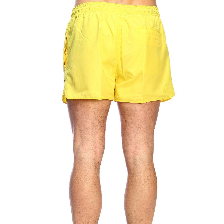 Maillot de bain homme Calvin Klein Swimwear jaune 3
