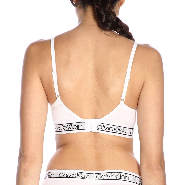 Lingerie femme Calvin Klein Underwear blanc 3