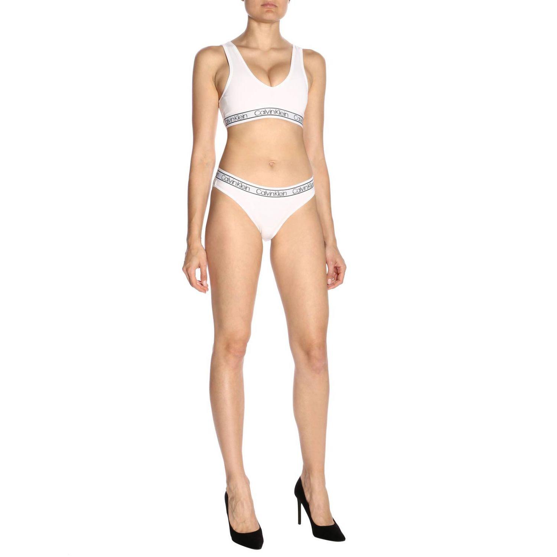 Lingerie femme Calvin Klein Underwear blanc 4