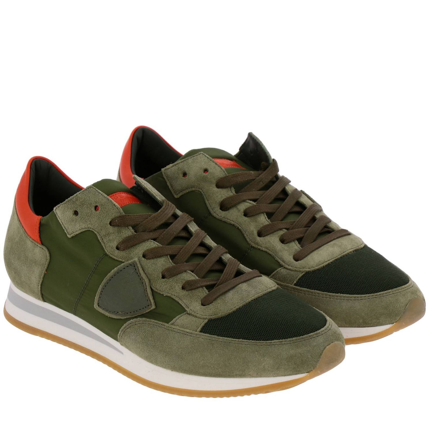 Shoes men Philippe Model military 2