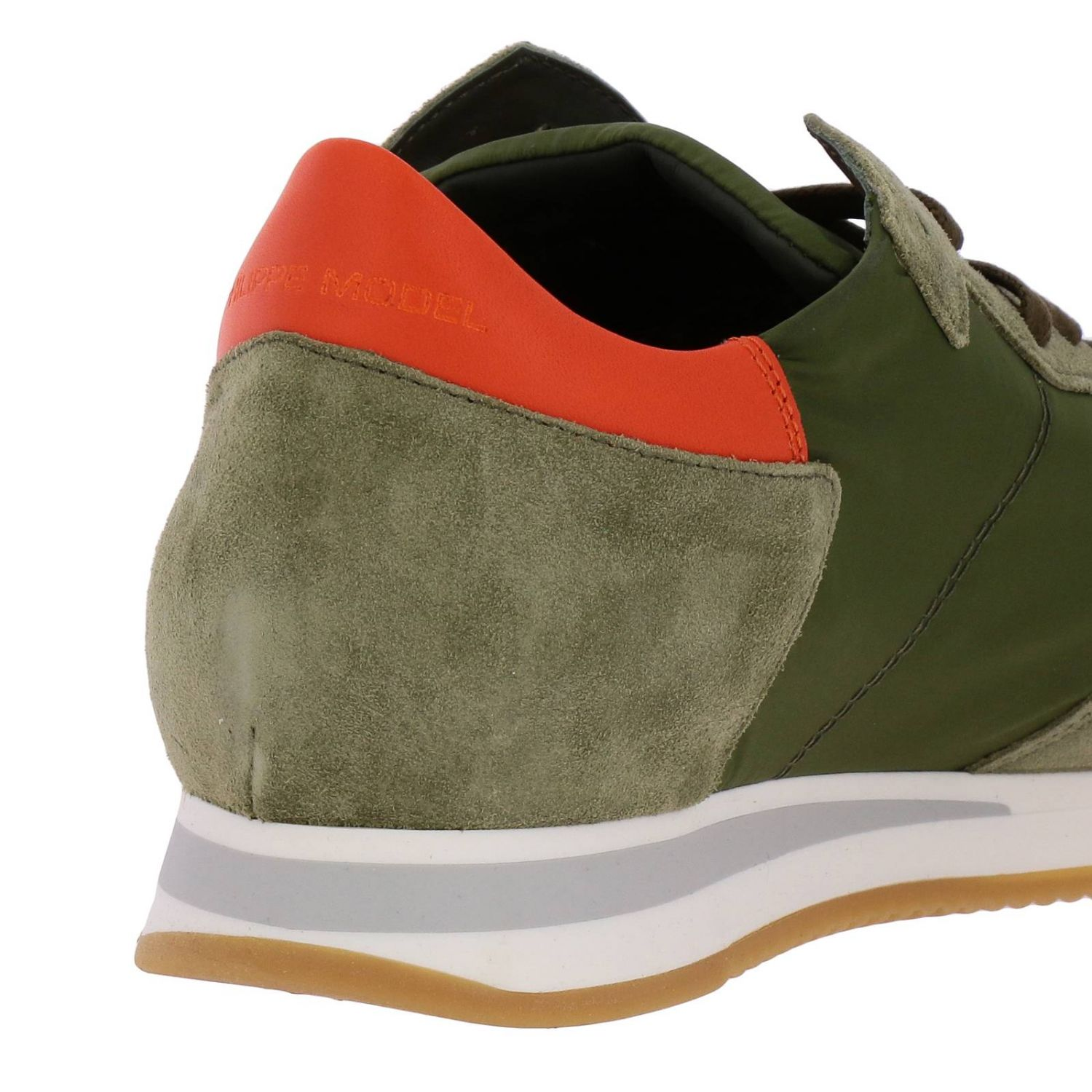 Shoes men Philippe Model military 4