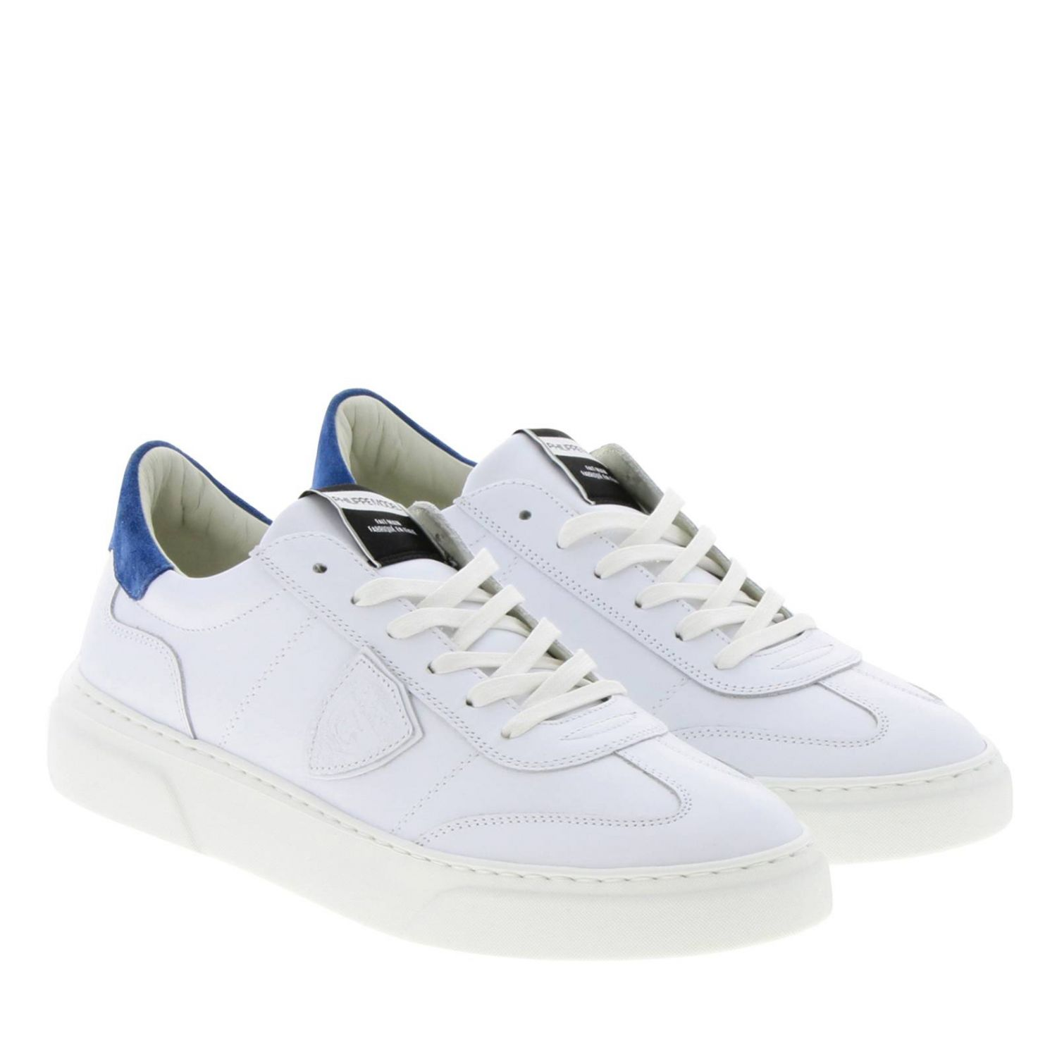Shoes men Philippe Model blue 2