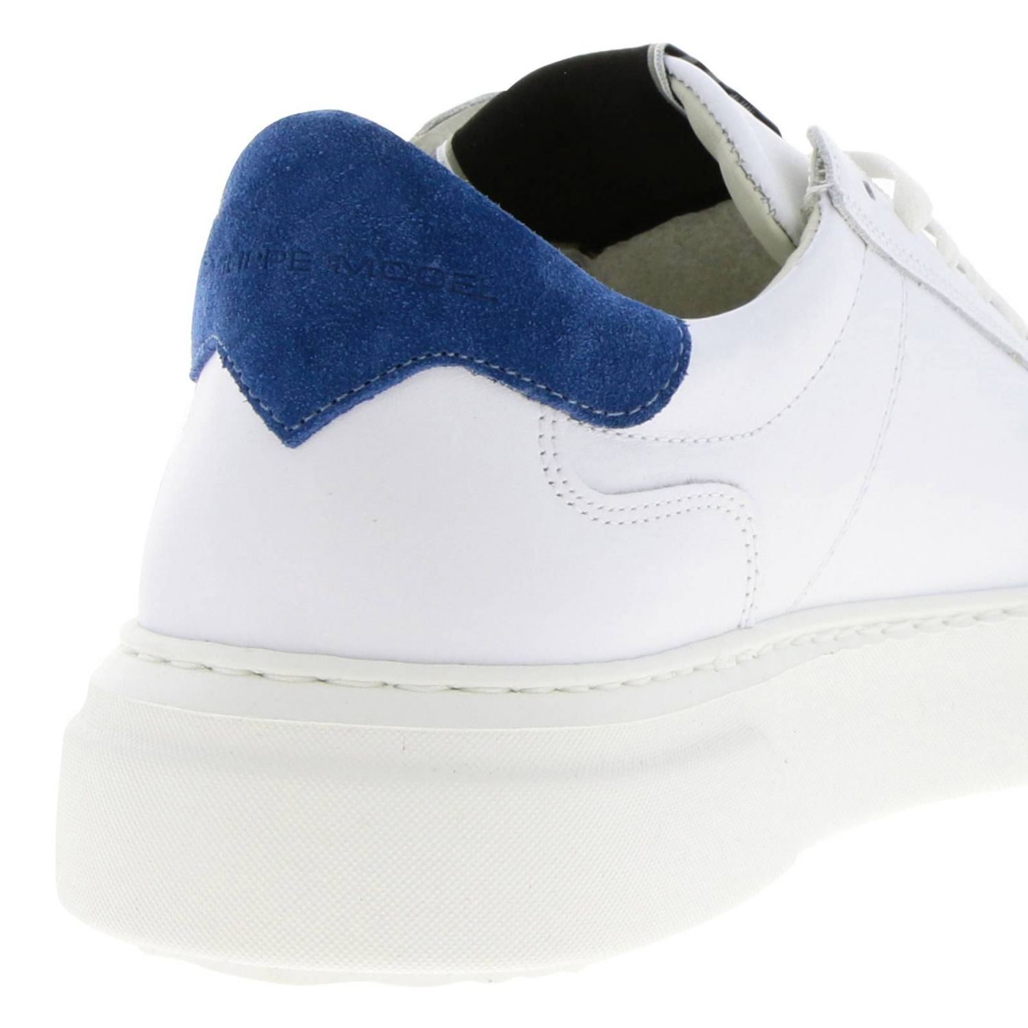 Shoes men Philippe Model blue 4