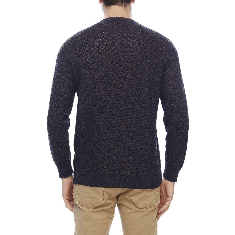 Sweater men Giorgio Armani blue 3