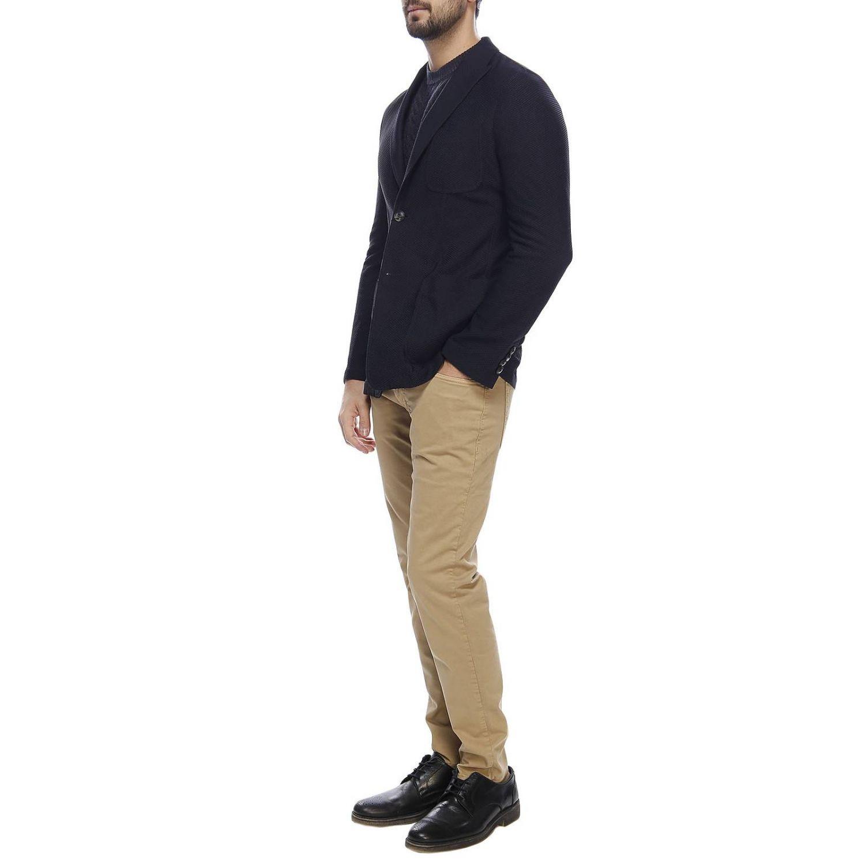 Sweater men Giorgio Armani blue 4