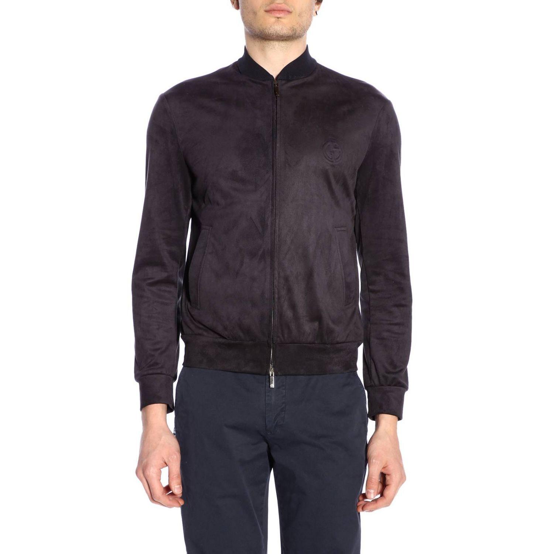 Jacket men Giorgio Armani blue 1