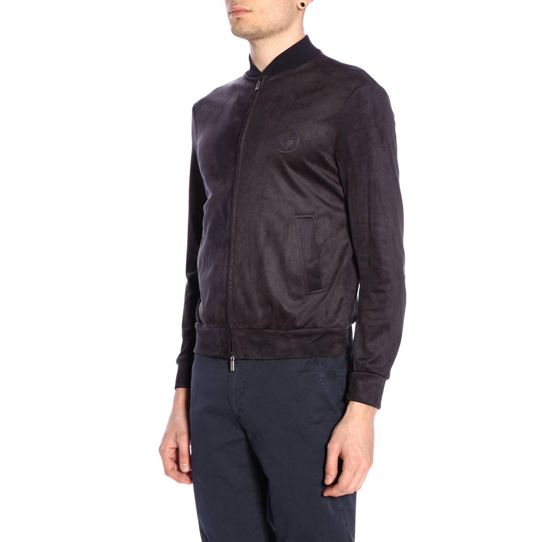 Jacket men Giorgio Armani blue 2