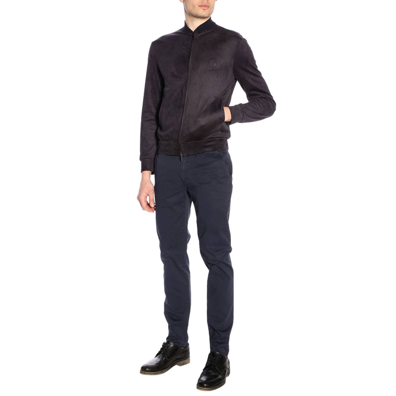 Jacket men Giorgio Armani blue 4