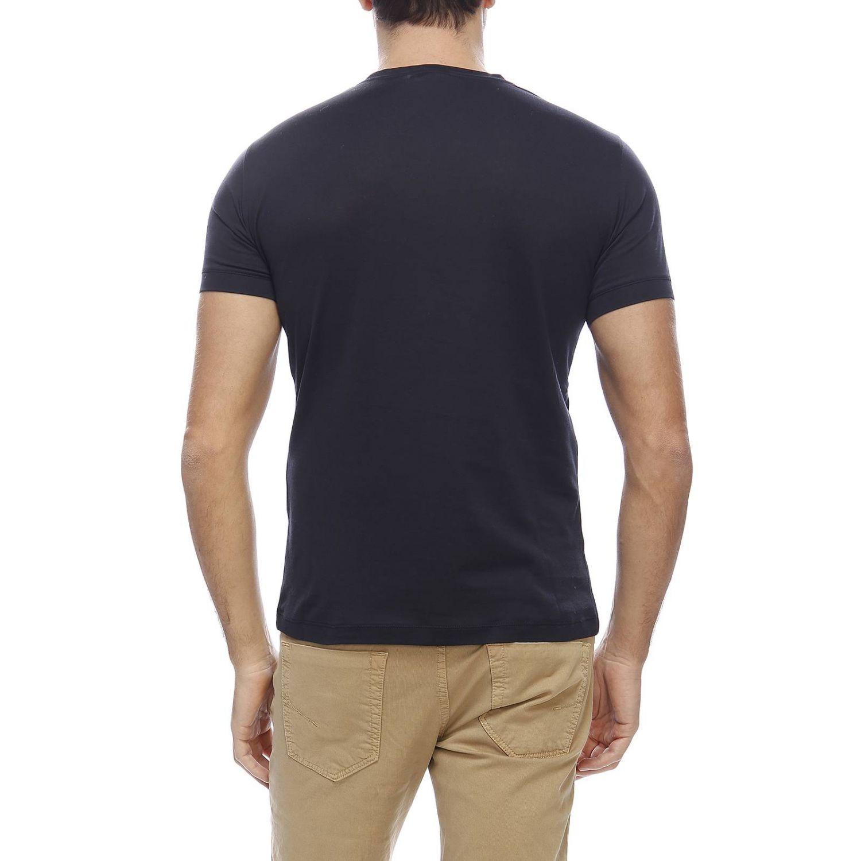 T-shirt men Giorgio Armani blue 3