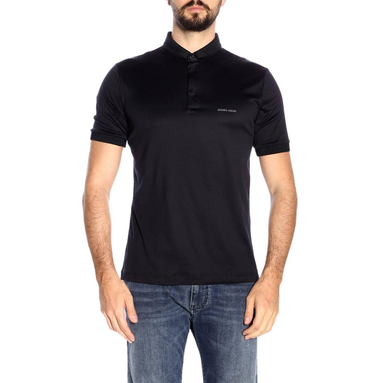 T-shirt men Giorgio Armani blue 1
