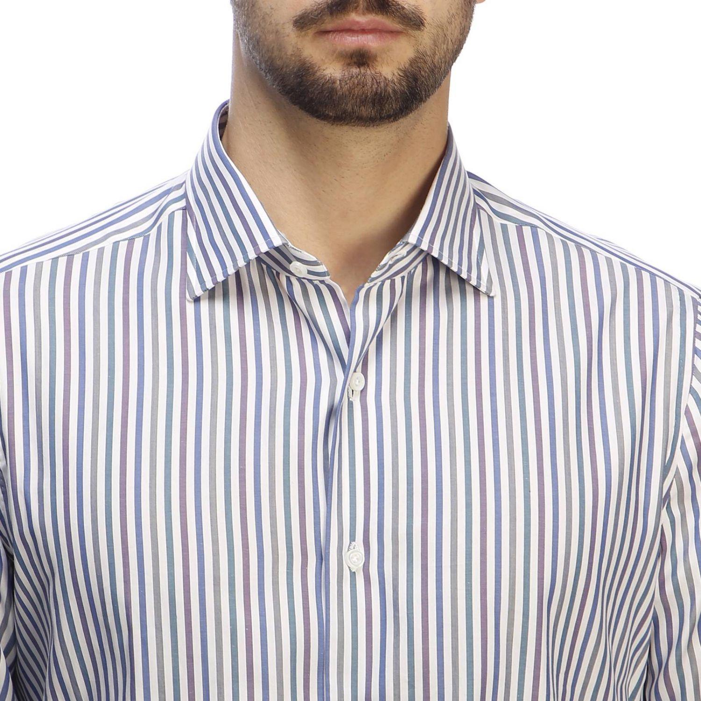 衬衫 男士 Isaia 蓝色 4