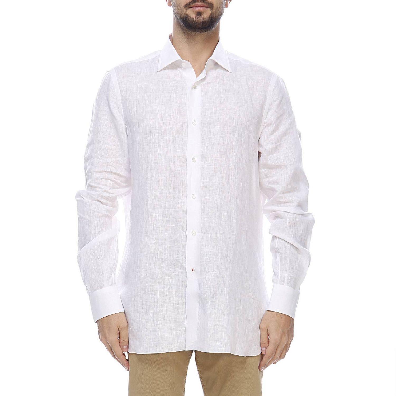 衬衫 男士 Isaia 白色 1
