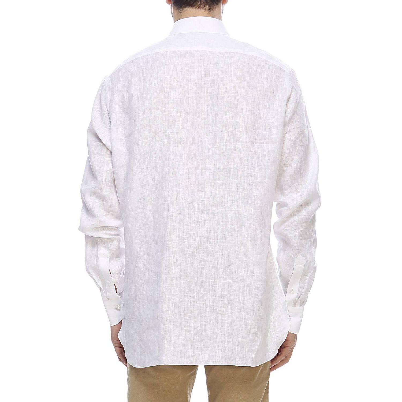 衬衫 男士 Isaia 白色 3