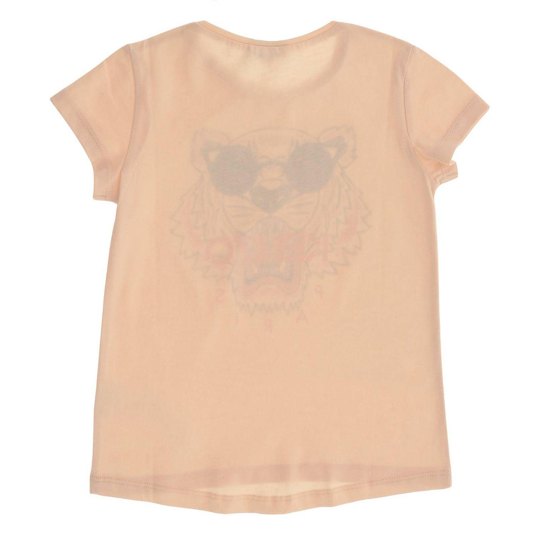 Camisetas niños Kenzo Junior rosa 2